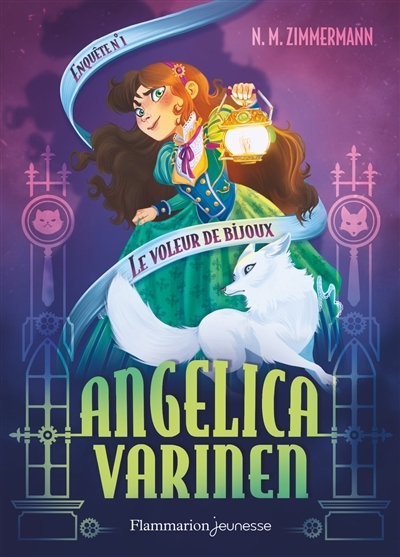 Couverture Angelica Varinen, tome 1 : Le voleur de bijoux