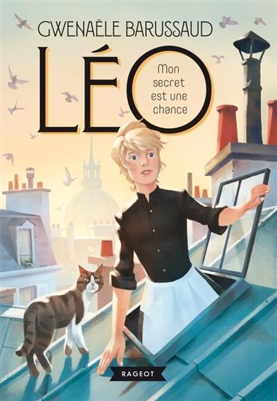Couverture Léo, tome 1 : Mon secret est une chance