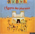 Couverture L'Egypte des pharaons Editions Nathan (Kididoc) 2002