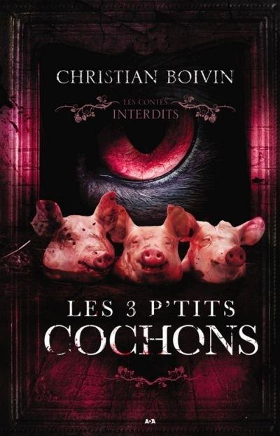 Couverture Les 3 p'tits cochons