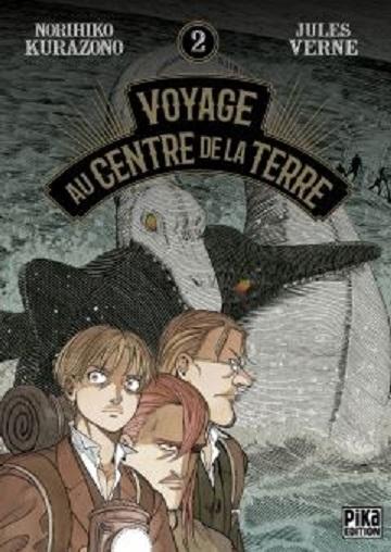 Couverture Voyage au centre de la terre (manga), tome 2