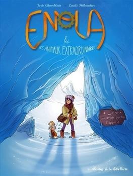 Couverture Enola & les animaux extraordinaires, tome 4 : Le yéti qui avait perdu l'appétit