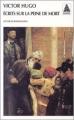 Couverture Écrits sur la peine de mort Editions Babel 2002