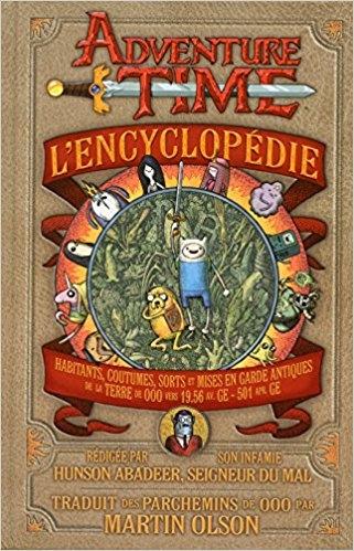 Couverture Adventure time : L'encyclopédie