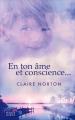 Couverture En ton âme et conscience... Editions France loisirs 2017