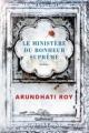 Couverture Le ministère du bonheur suprême Editions Gallimard  (Du monde entier) 2018