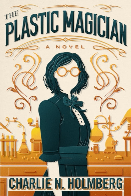 Couverture The paper magician, tome 4