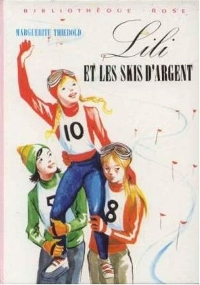 Couverture Lili et les skis d'argent