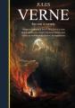 Couverture Jules Verne, illustré : Voyage au centre de la terre, De la terre à la lune, Autour de la lune, Vingt mille lieues sous les mers, Le tour du monde en 80 jours, L'île mystérieuse Editions France Loisirs 2017