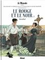 Couverture Le rouge et le noir, tome 2 Editions Glénat 2017