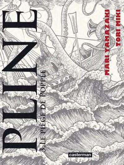 Couverture Pline, tome 3 : Les griffes de Poppée