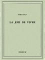 Couverture La joie de vivre Editions Bibebook 2016