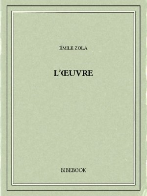 Couverture L'oeuvre