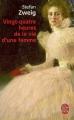 Couverture Vingt-quatre heures de la vie d'une femme Editions Stock 1927