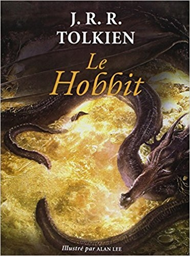 Couverture Le hobbit, illustré (Lee)