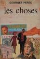 Couverture Les choses Editions J'ai lu 1966