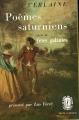 Couverture Poèmes saturniens Editions Le Livre de Poche (Classique) 1980