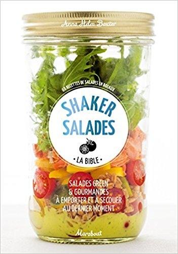 Couverture Shaker salades : La bible