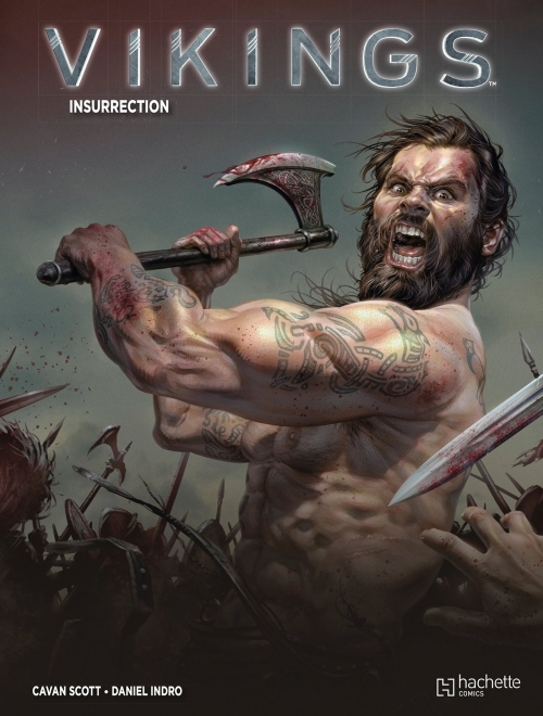 Couverture Vikings, tome 2 : Insurrection