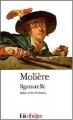 Couverture Sganarelle ou le cocu imaginaire Editions Folio  (Théâtre) 2004