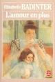 Couverture L'amour en plus Editions Le Livre de Poche 1980