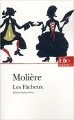 Couverture Les fâcheux Editions Folio  (Théâtre) 2005