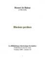 Couverture Illusions perdues Editions Ebooks libres et gratuits 2004