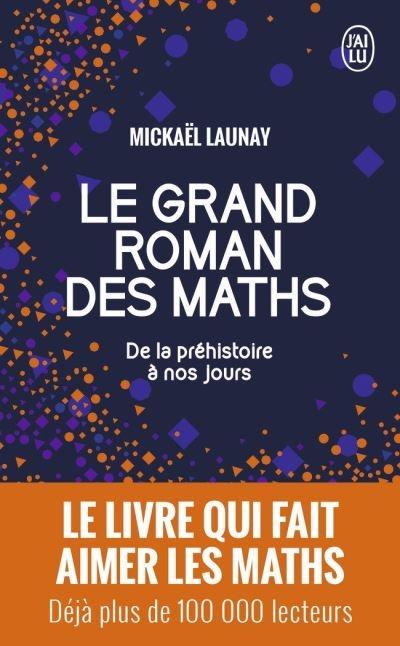 Couverture Le grand roman des maths : De la préhistoire à nos jours