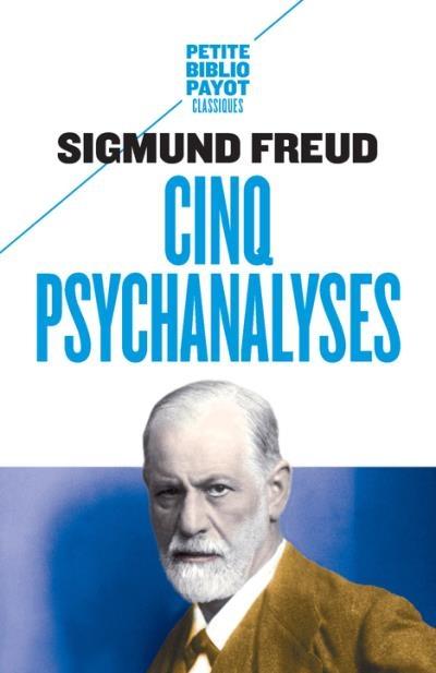 Couverture Cinq psychanalyses