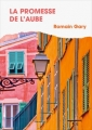 Couverture La Promesse de l'aube Editions France Loisirs 2017