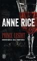 Couverture Prince Lestat Editions J'ai Lu (Science-fiction) 2018