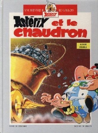 Couverture Astérix et le Chaudron / Astérix en Hispanie
