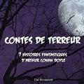 Couverture Contes de terreur Editions Audible studios 2016