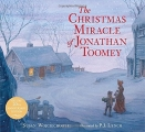 Couverture The Christmas miracle of Jonathan Toomey Editions Candlewick Press 2015