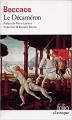 Couverture Décaméron Editions Folio  (Classique) 2006