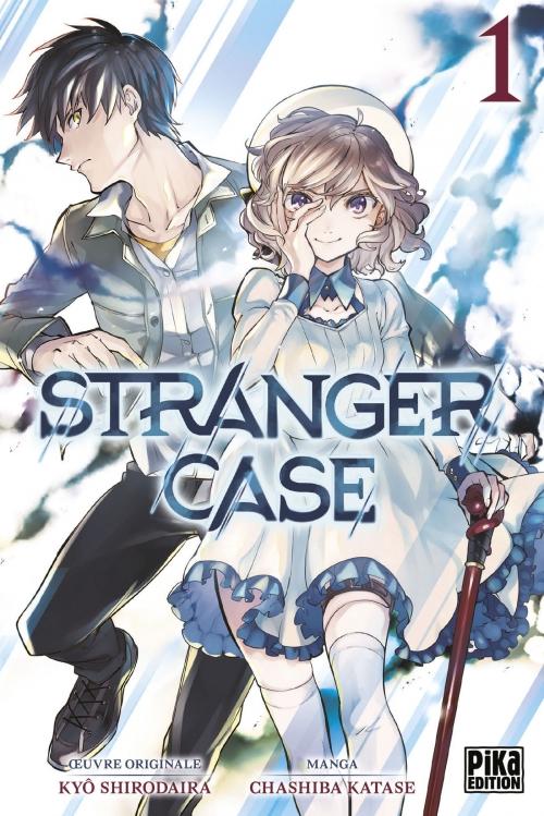 Couverture Stranger case, tome 01