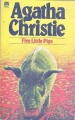 Couverture Cinq petits cochons Editions Fontana (Christie collection) 1947