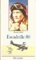 Couverture Escadrille 80 Editions Folio  (Junior) 1993
