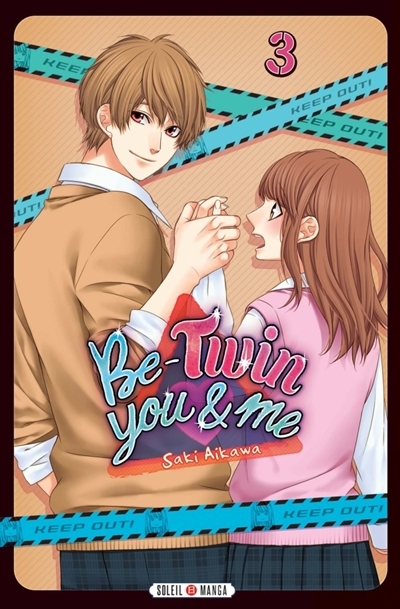 Couverture Be-twin you & me, tome 3