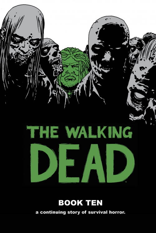 Couverture The Walking Dead, book 10