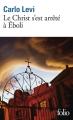 Couverture Le Christ s'est arrêté à Eboli Editions Folio  2012
