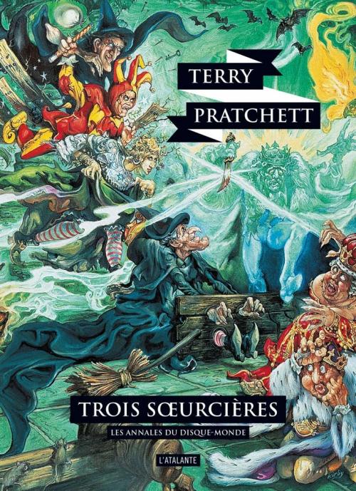 Couverture Les Annales du Disque-Monde, tome 06 : Trois soeurcières