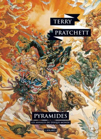 Couverture Les Annales du Disque-Monde, tome 07 : Pyramides