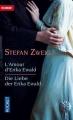 Couverture L'amour d'Erika Ewald Editions Pocket (Bilingue) 2004