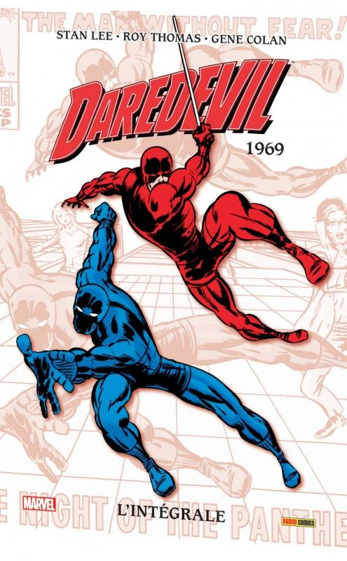Couverture Daredevil, intégrale, tome 05 : 1969