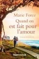 Couverture L'île de Gansett, tome 1 : Quand on est fait pour l'amour / Gansett Island, tome 1 : Cadeau d'amour Editions Amazon Crossing 2016