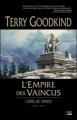 Couverture L'épée de vérité, tome 08 : L'empire des vaincus Editions Bragelonne 2008