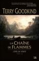 Couverture L'épée de vérité, tome 09 : La chaîne de flammes Editions Bragelonne 2009