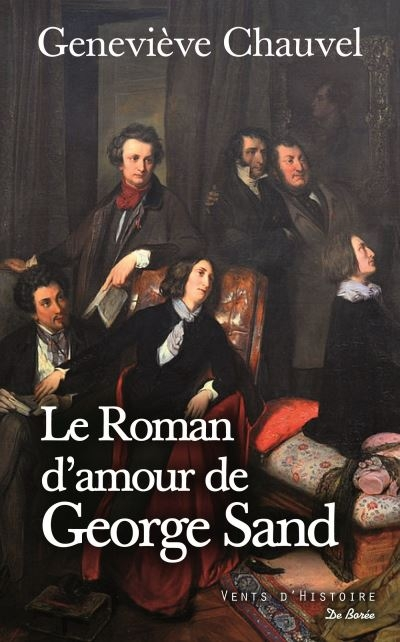 Couverture Le roman d'amour de George Sand