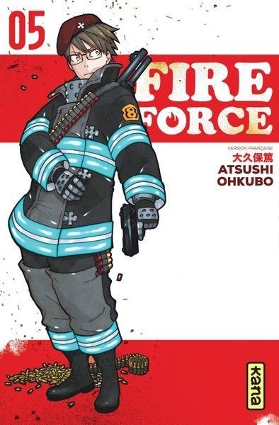 Couverture Fire force, tome 05